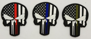Patch PVC Punisher Glow in the Dark- 3